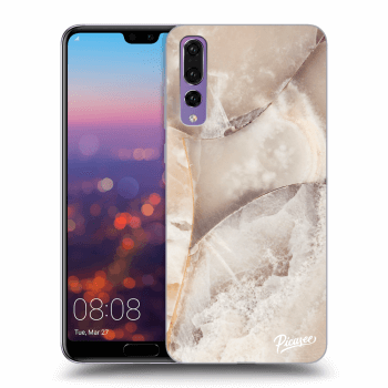 Obal pre Huawei P20 Pro - Cream marble