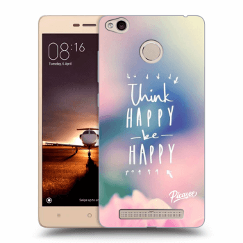 Obal pre Xiaomi Redmi 3s, 3 Pro - Think happy be happy