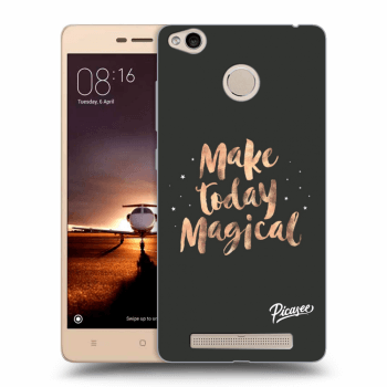 Obal pre Xiaomi Redmi 3s, 3 Pro - Make today Magical