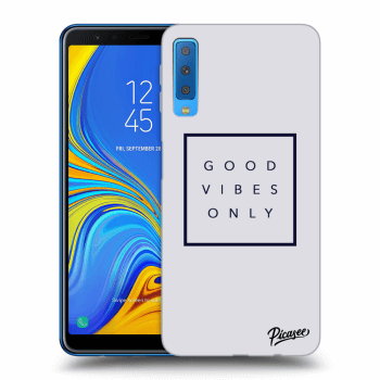 Obal pre Samsung Galaxy A7 2018 A750F - Good vibes only