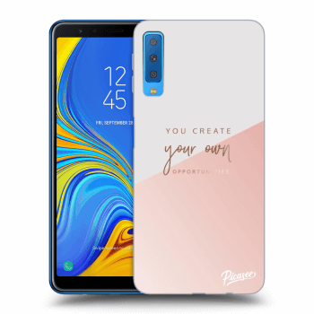 Obal pre Samsung Galaxy A7 2018 A750F - You create your own opportunities
