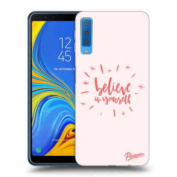 Obal pre Samsung Galaxy A7 2018 A750F - Believe in yourself