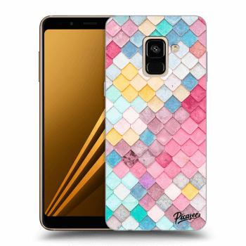 Obal pre Samsung Galaxy A8 2018 A530F - Colorful roof