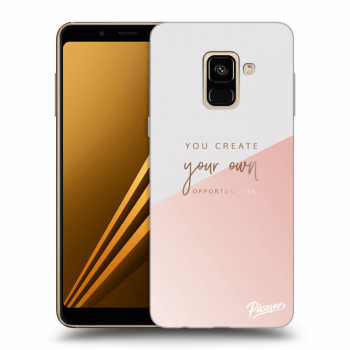 Obal pre Samsung Galaxy A8 2018 A530F - You create your own opportunities