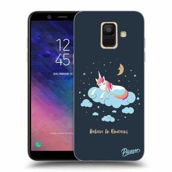 Obal pre Samsung Galaxy A6 A600F - Believe In Unicorns