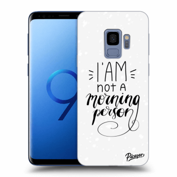 Obal pre Samsung Galaxy S9 G960F - I am not a morning person