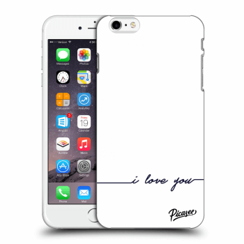 Obal pre Apple iPhone 6 Plus/6S Plus - I love you