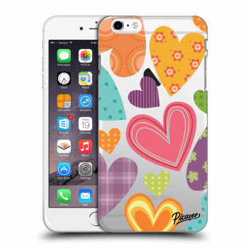 Obal pre Apple iPhone 6 Plus/6S Plus - Colored heart