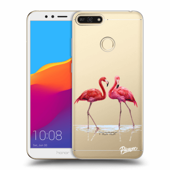 Obal pre Honor 7A - Flamingos couple