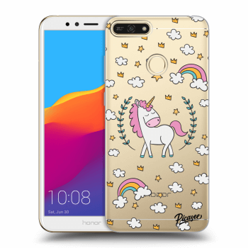 Obal pre Honor 7A - Unicorn star heaven