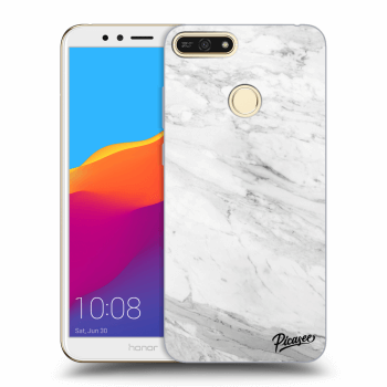 Obal pre Honor 7A - White marble