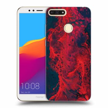 Obal pre Honor 7A - Organic red
