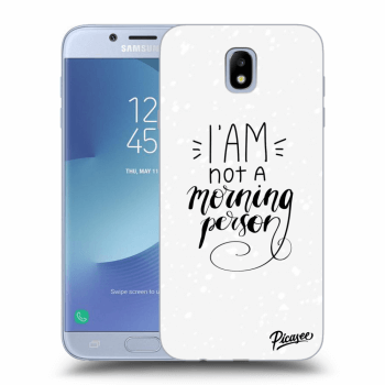 Obal pre Samsung Galaxy J7 2017 J730F - I am not a morning person