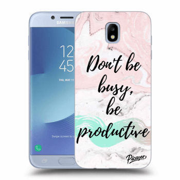 Obal pre Samsung Galaxy J7 2017 J730F - Don't be busy, be productive