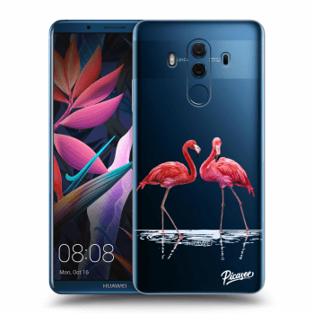 Obal pre Huawei Mate 10 Pro - Flamingos couple