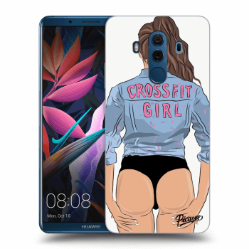 Obal pre Huawei Mate 10 Pro - Crossfit girl - nickynellow