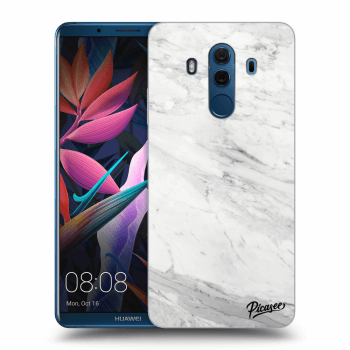 Obal pre Huawei Mate 10 Pro - White marble