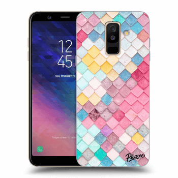 Obal pre Samsung Galaxy A6+ A605F - Colorful roof