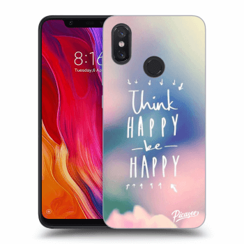 Obal pre Xiaomi Mi 8 - Think happy be happy