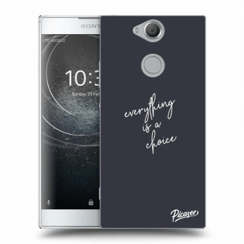 Obal pre Sony Xperia XA2 - Everything is a choice