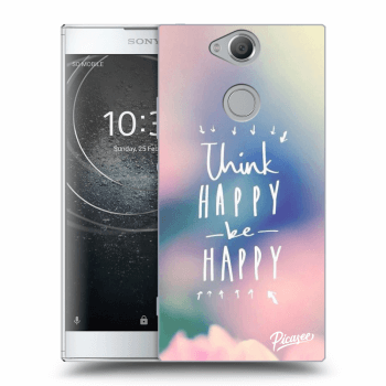 Obal pre Sony Xperia XA2 - Think happy be happy