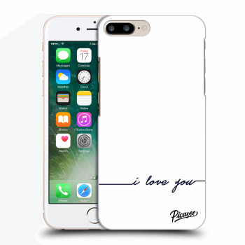 Obal pre Apple iPhone 7 Plus - I love you