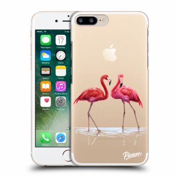Obal pre Apple iPhone 7 Plus - Flamingos couple