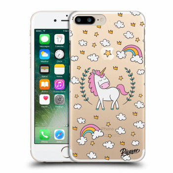 Obal pre Apple iPhone 7 Plus - Unicorn star heaven