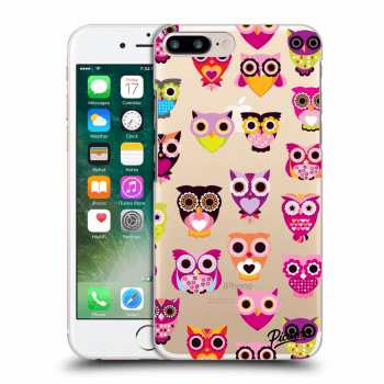 Obal pre Apple iPhone 7 Plus - Owls