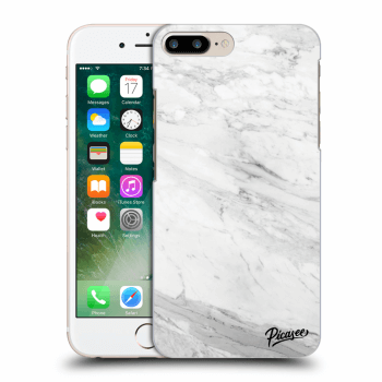 Obal pre Apple iPhone 7 Plus - White marble