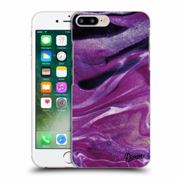 Obal pre Apple iPhone 7 Plus - Purple glitter
