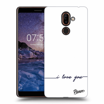 Obal pre Nokia 7 Plus - I love you
