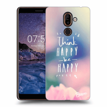 Obal pre Nokia 7 Plus - Think happy be happy