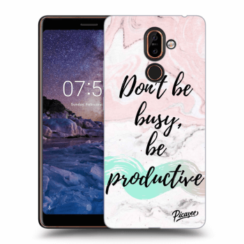 Obal pre Nokia 7 Plus - Don't be busy, be productive