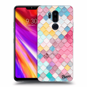 Obal pre LG G7 ThinQ - Colorful roof
