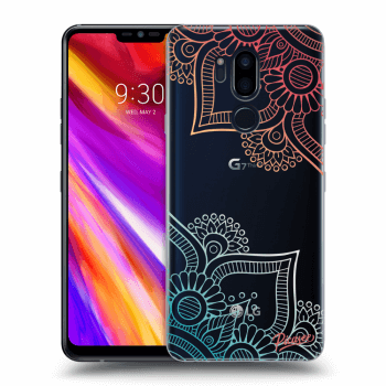 Obal pre LG G7 ThinQ - Flowers pattern
