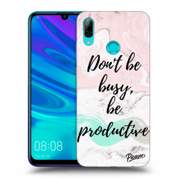 Obal pre Huawei P Smart 2019 - Don't be busy, be productive