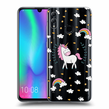 Obal pre Honor 10 Lite - Unicorn star heaven