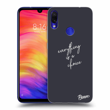 Obal pre Xiaomi Redmi Note 7 - Everything is a choice