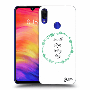 Obal pre Xiaomi Redmi Note 7 - Small steps every day