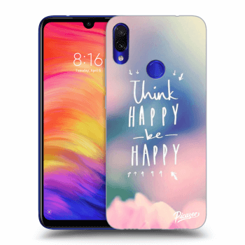 Obal pre Xiaomi Redmi Note 7 - Think happy be happy
