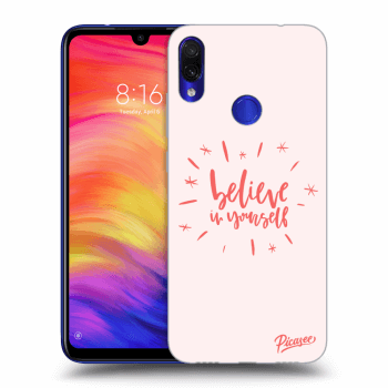 Obal pre Xiaomi Redmi Note 7 - Believe in yourself