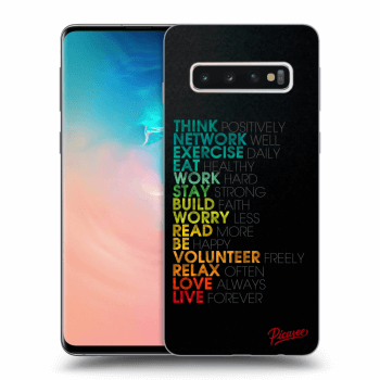 Obal pre Samsung Galaxy S10 G973 - Motto life