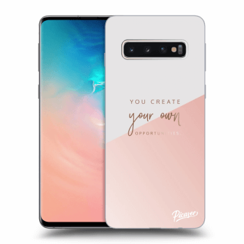 Obal pre Samsung Galaxy S10 G973 - You create your own opportunities