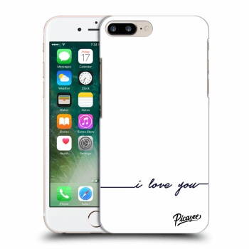 Obal pre Apple iPhone 8 Plus - I love you