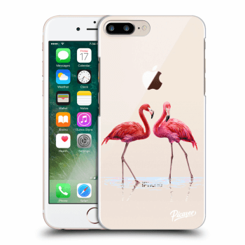 Obal pre Apple iPhone 8 Plus - Flamingos couple