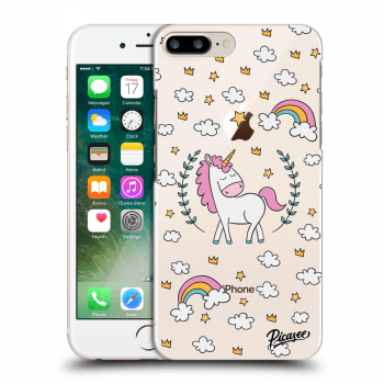 Obal pre Apple iPhone 8 Plus - Unicorn star heaven