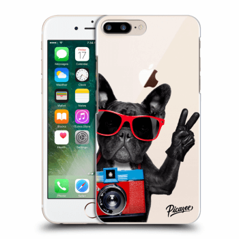 Obal pre Apple iPhone 8 Plus - French Bulldog