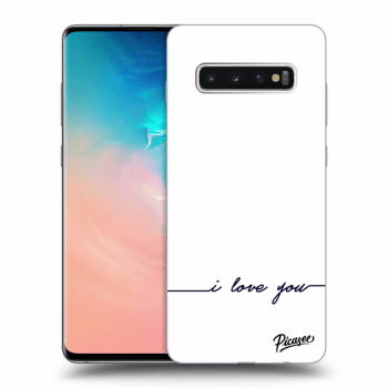 Obal pre Samsung Galaxy S10 Plus G975 - I love you