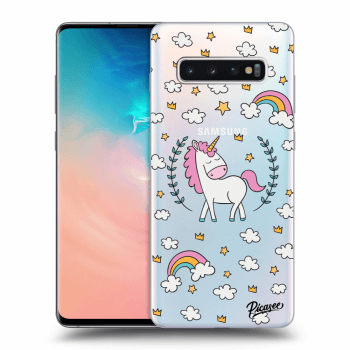 Obal pre Samsung Galaxy S10 Plus G975 - Unicorn star heaven